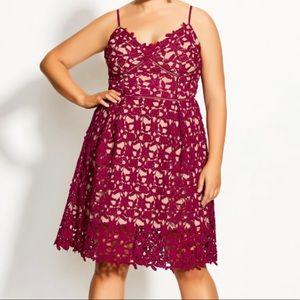 City Chic 'So Fancy' Midi dress